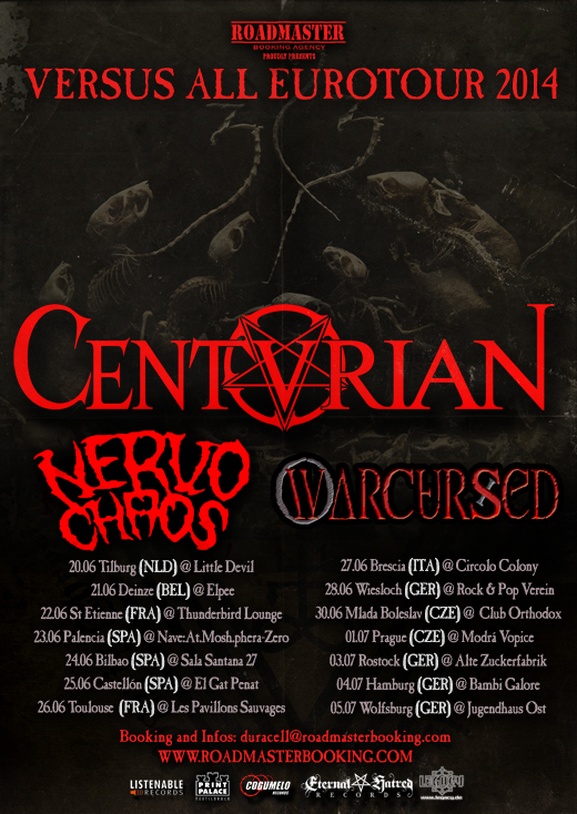 CENTURIAN Flyer Eurotour 2014 DATES web