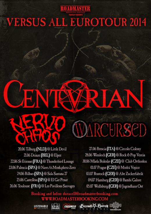 CENTURIAN Flyer Eurotour 2014 DATES web