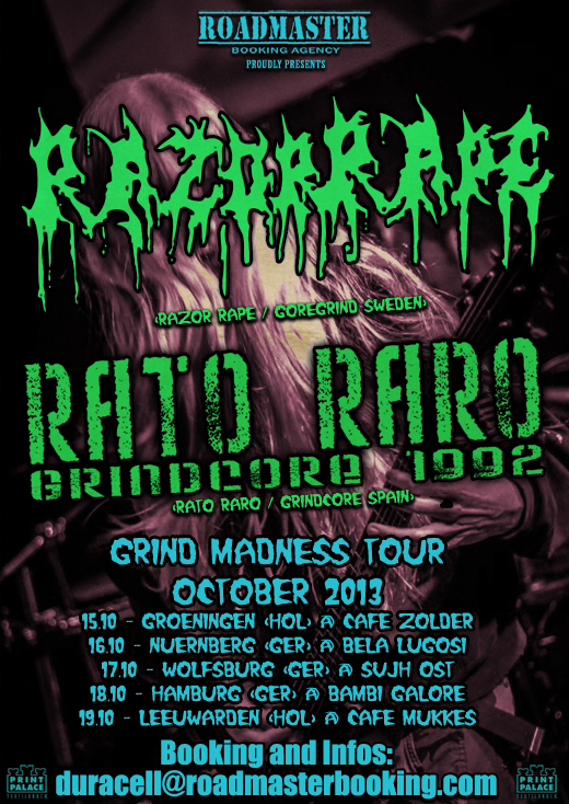 Flyer Rato Raro Tour