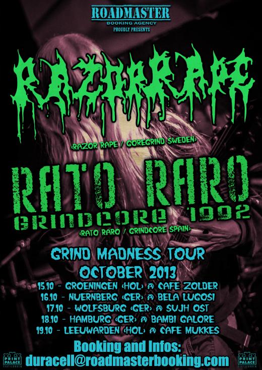 Flyer Rato Raro Tour