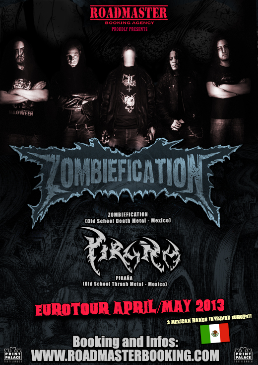 Flyer Zombiefication Eurotour 2013 Web