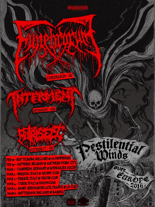 Funebrarum Tour Poster final web