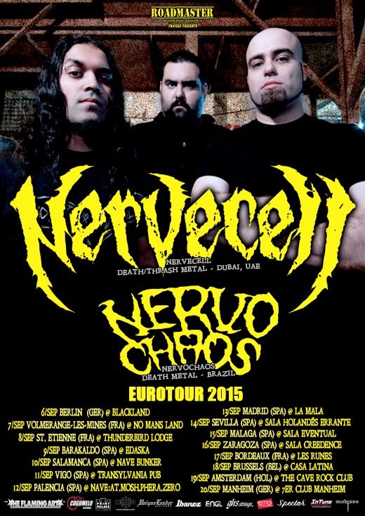Nervecell - Tour Flyer - Final WEB