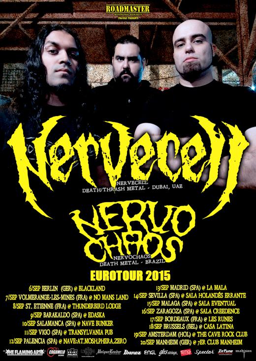 Nervecell - Tour Flyer - Final WEB