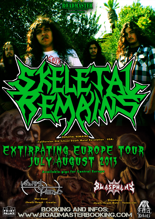 SKELETAL REMAINS Flyer