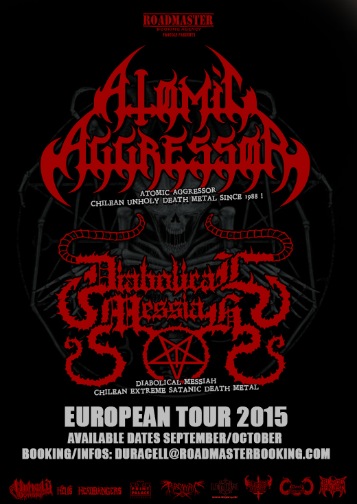 Atomic Agressor - Diabolical Messiah - Tour Flyer WEB