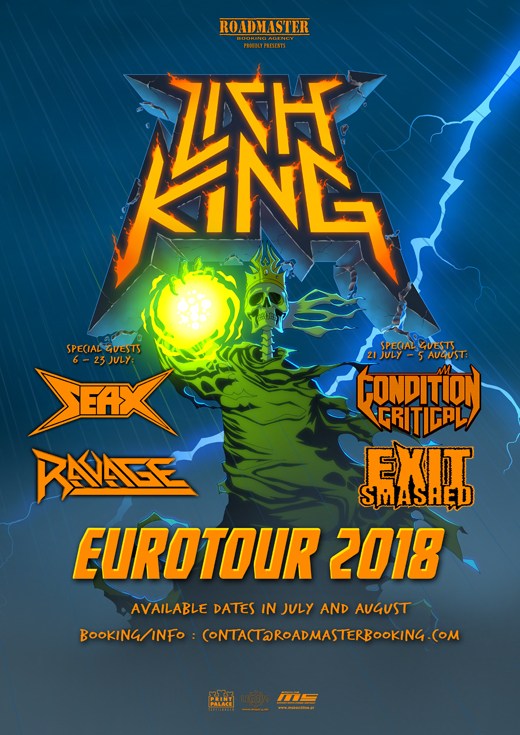 Lich King Eurotour 2018 Poster First WEB